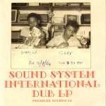 King Tubby & The Clancy Eccles All Stars-Sound System International Dub LP